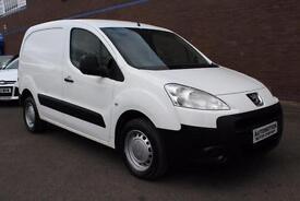 Peugeot Partner 1.6HDi ( 90 ) L1 850 S White No Vat £4295