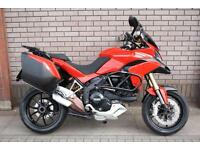 DUCATI MULTISTRADA 1200 ABS ADVENTURE TOURING MOTORCYCLE