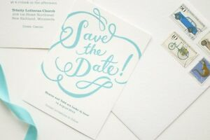WEDDING STATIONERY (CUSTOM PRINTED)