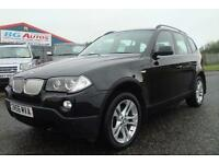 56 BMW X3 3.0d SE BLACK 4WD 6SP AUTO SPORT SPEC FULLY LOADED