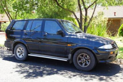 1996 Ssangyong Musso 4x4 Wagon St Agnes Tea Tree Gully Area Preview