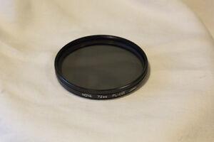 72mm Hoya circular polarizer - Canon / Nikon / Sony / Panasonic