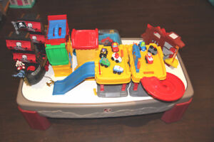 Lot of toys - Step2 Car table and more