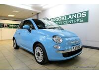 Fiat 500 1.2i Lounge S/S [PANORAMIC ROOF and ?30 ROAD TAX]