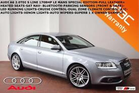 2010 Audi A6 Saloon 2.0TDI (170ps) S Line-LED LIGHTS-XENONS-LE MANS SPECIAL EDT.
