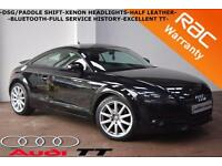 2006 Audi TT Coupe 2.0T FSI -DSG/P/SHIFT-HALF LEATHER-B/TOOTH-FULL HISTORY-