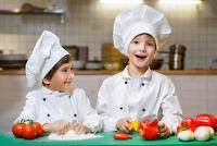 Cuisinier en CPE ou garderie (plusieurs postes)
