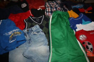 Boys clothing size 4 to 6