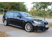 2006 BMW 525d 2.5TD auto M Sport Touring FSH, PAN ROOF, HUGE SPEC, 3M WARRANTY
