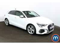 2020 Audi A3 35 TFSI S line 5dr Hatchback Petrol Manual