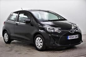 2014 Toyota Yaris VVT-I ACTIVE Petrol black Manual