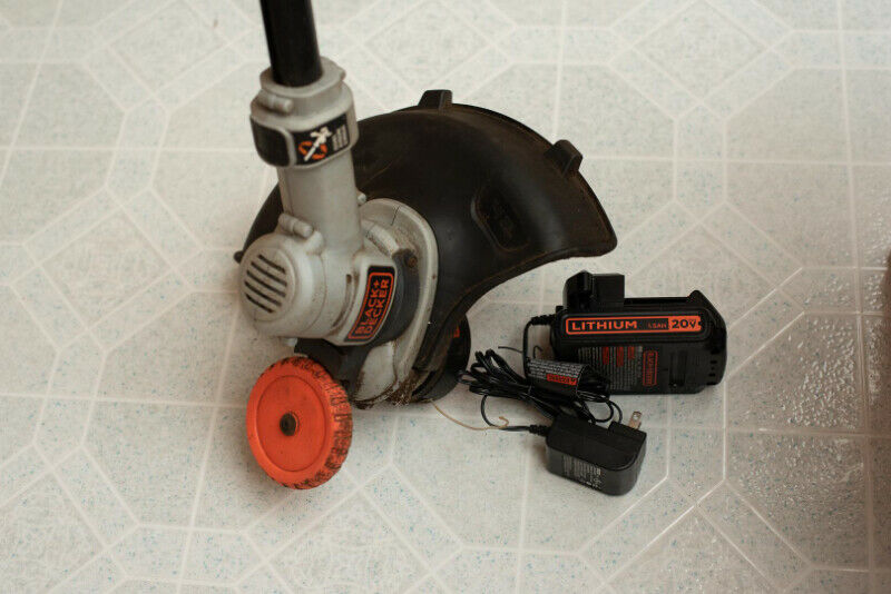 Cordless string trimmer/edger - 2 speeds - 12