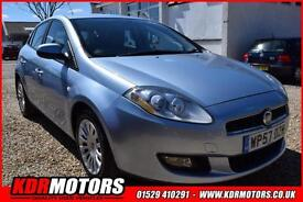 2007 Fiat Bravo Active T-jet 1.4 Turbo 6 SPEED MANUAL 111K F/S/H CAMBELT DONE