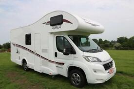 Rimor Seal 5 New 68 Plate Unregistered 6 Berth Garage Motorhome Motocross 2018