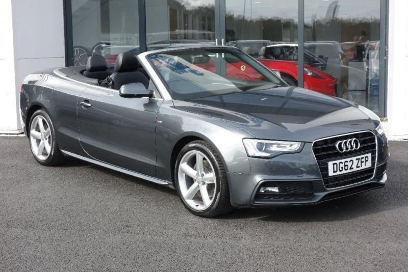 2012 Audi A5 Cabriolet 20 Tdi S Line Cabriolet Multitronic 2dr In