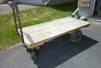 ANTIQUE Factory Cart - 100 YRS OLD PLUS - $500