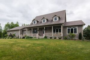 Custom 2 storey Cape Cod style home - 2126 Cole Hill Road