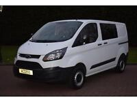 Ford Transit Custom 2.2TDCi 125PS Double Cab in Van 290