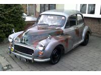 58 Morris Minor moggy Hot Rod classic TAX & MOT EXEMPT !!!!!!