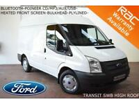 2013 Ford Transit 2.2TDCi (100PS) ( EU5) 280S (HIGH ROOF) SWB-BLUETOOTH-PLYLINED