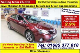 2014 - 14 - TOYOTA AVENSIS ICON 2.2 D-4D AUTO 4 DOOR SALOON (GUIDE PRICE)