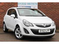 Vauxhall Corsa 1.4i 16v 100PS SXi A/C Automatic Petrol 5 Door Hatchback in White