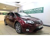 Toyota Avensis 2.0 D-4D ICON [4X TOYOTA SERVICES, SAT NAV, LEATHER, REVERSE CAM