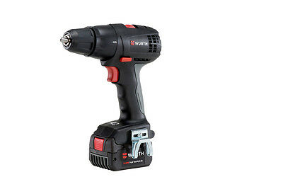 - Genuine Wurth CORDLESS DRILL SCREWDRIVER BS 14V BS COMPACT 4AH LED Lamp