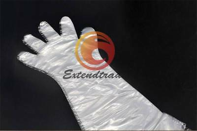 50pcsbag Vet Farm Use Arm Length Disposable Artificial Insemination Gloves