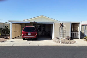 WINTER BEAUTY in Yuma AZ in 55Plus Community 2 Bed 2 Bath Tus118