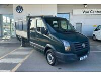 2015 Volkswagen Crafter 2.0 CR35 TDI 109PS DOUBLE CAB CHASSIS CAB DIESEL Manual