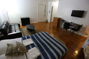 WELL FURNISHED 1-BEDROOM AND STUDIO APT IN DOWNTOWN