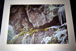 Terry Isaac and Robert Bateman limited edition print collection