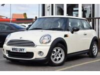 2011 61 MINI HATCH ONE 1.6 ONE 3D 98 BHP