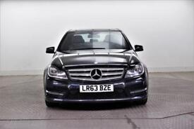 2013 Mercedes-Benz C Class C220 CDI BLUEEFFICIENCY AMG SPORT Diesel black Manual