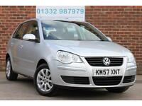 Volkswagen Polo 1.4 SE 80PS Automatic Petrol 5 Door Hatchback in Silver