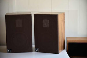 Rare Infinity QE Speakers with EMIT Ribbon Tweeter