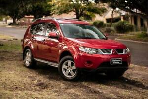2009 MITSUBISHI OUTLANDER LS ZG MY09 2.4L CVT AUTO 6 SP SEQUENTIAL Welshpool Canning Area Preview