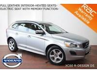 2012 Volvo XC60 2.4D AWD (215bhp) (s/s) Geartronic D5 R-Design-HEATED LEATHER-