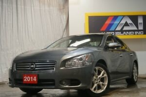 2014 Nissan Maxima 3.5 SV Camera Bluetooth Leather Roof