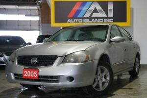 2005 Nissan Altima I4 2.5 SL,Leather,Sunroof,Heated seat,Alloy
