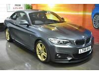 2016 BMW 218I M Sport (BIG SPEC) Coupe 2dr 6-Speed Petrol Manual Coupe Petrol Ma