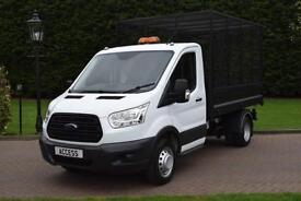 Ford Transit Caged Tipper T350 2.2 tdci 6 speed