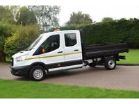 Ford Transit Tipper D/C T350 2.2 tdci 6 speed