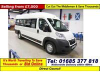 2012 - 12 - CITROEN RELAY 2.2HDI L4H2 16 SEAT DISABLED ACCESS MINIBUS