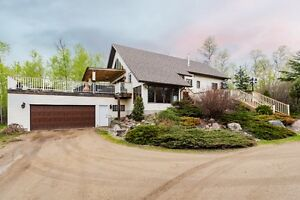 Private Treed Acreage With Upgraded Home and Heated Shop