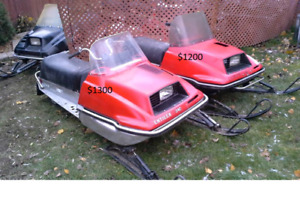Enticer snowmobiles
