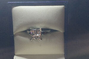 Beautiful Valentines Gift! Engagement Ring w/ Wedding Band