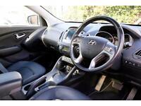2014 Hyundai ix35 2.0 CRDi Premium SUV 4WD 5dr Diesel silver Automatic