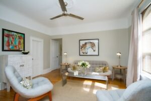 Locke St. S Location....Fabulous furnished 1 bedroom apartment!